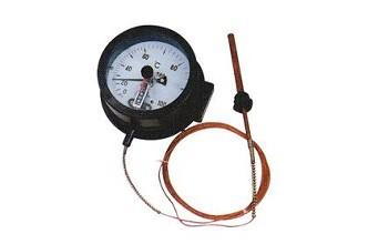WSSX-401电接点双金属温度计厂家直销-特殊定制