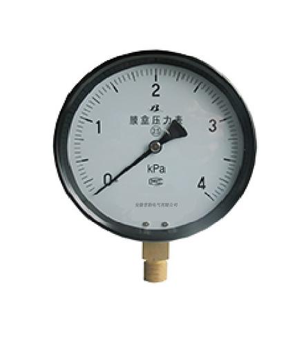 YE-75-膜盒压力表-加工厂家-价格优惠